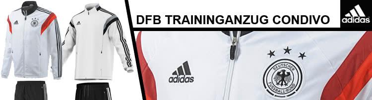 adidas Condivo14 Präsentationsanzug Trainingsanzug