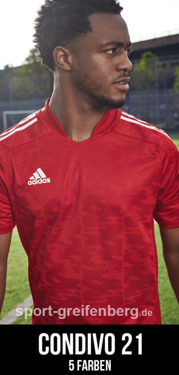 Das adidas Condivo 21 Jersey als eines der adidas Trikots 2021/2022
