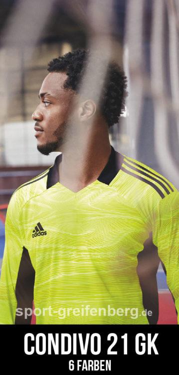 das adidas Condivo 21 GK Jersey als Torwarttrikot für 2021/2022