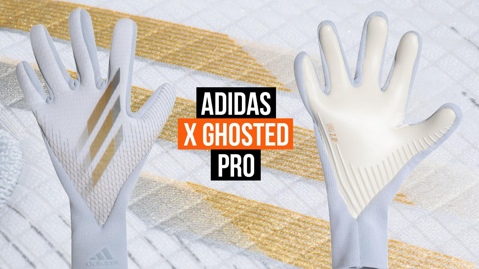 Die adidas X Ghosted Pro Torwarthandschuhe mit URG 2.0