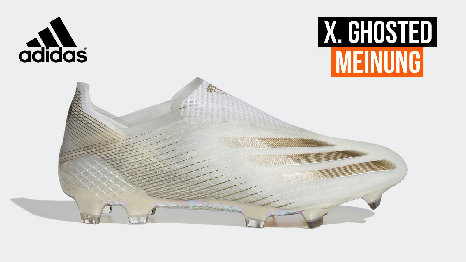 Die adidas X Ghosted mit dem X+ und X1