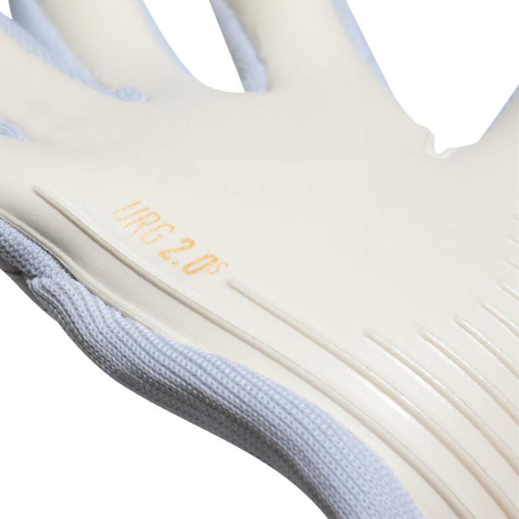 Der adidas URG 2.0 Haftschaum in den Handschuhen