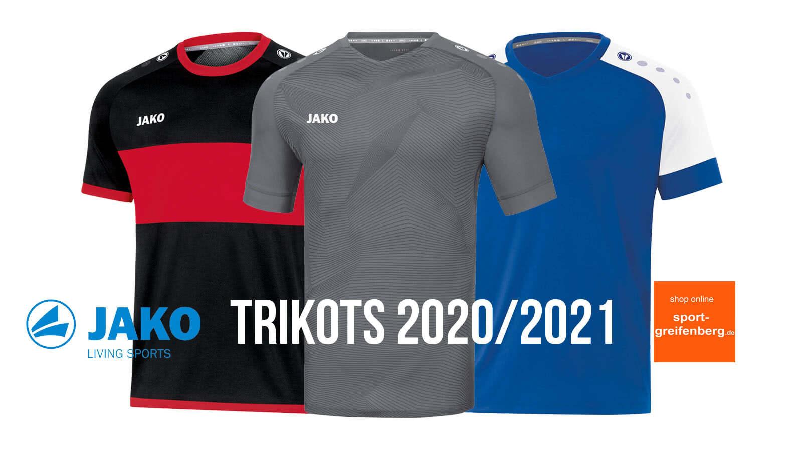 Die Jako Trikots 2020/2021 Fußball für Trikotsätze
