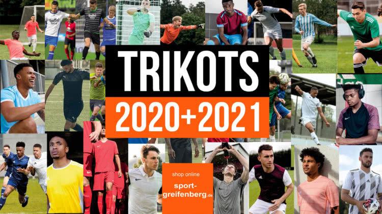 alle Trikots 2020/2021 von adidas | nike | puma | jako und erima. Die Sport und Fußball Trikots