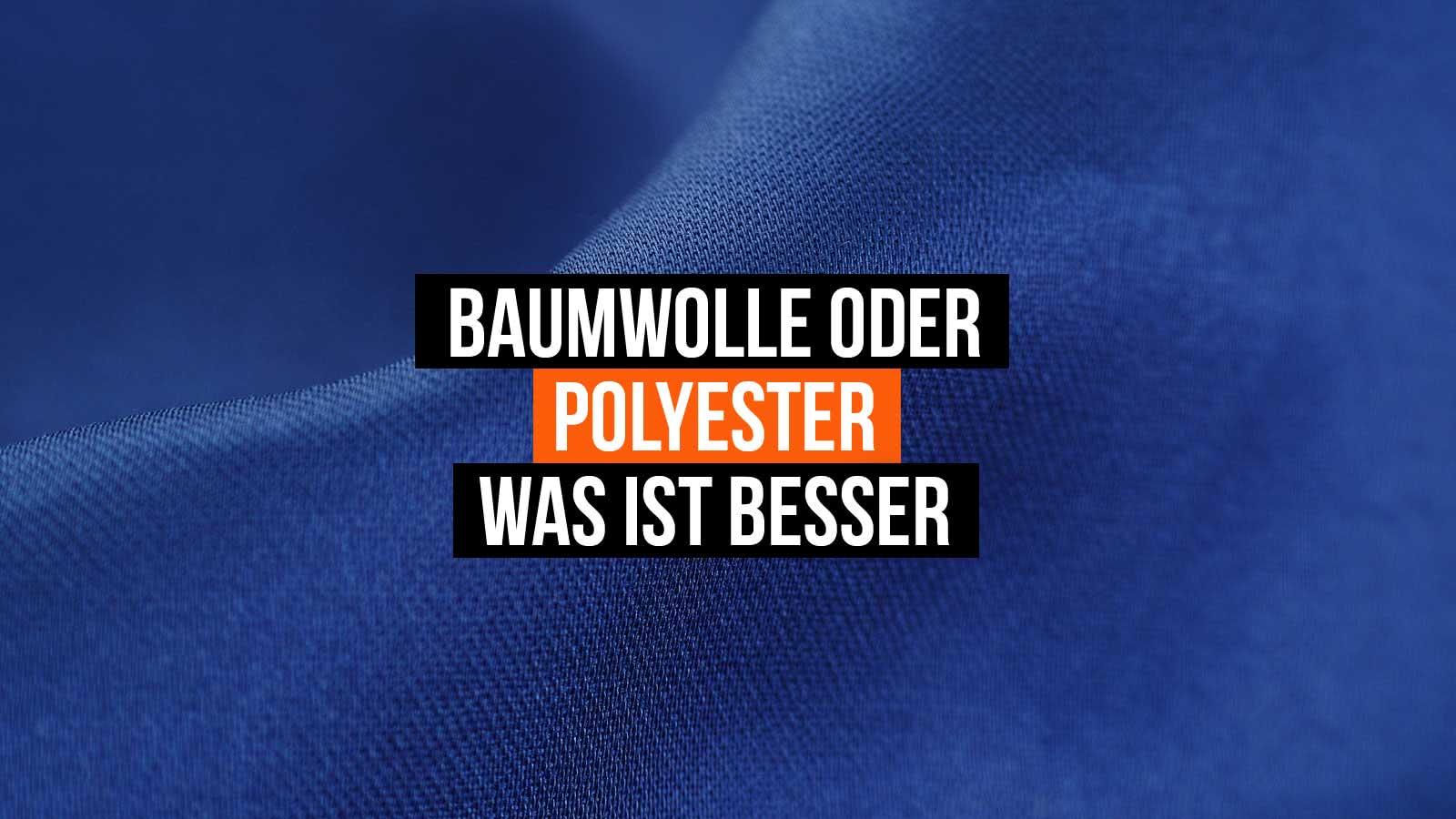Was ist Besser für Sportartikel? Baumwolle oder Polyester?