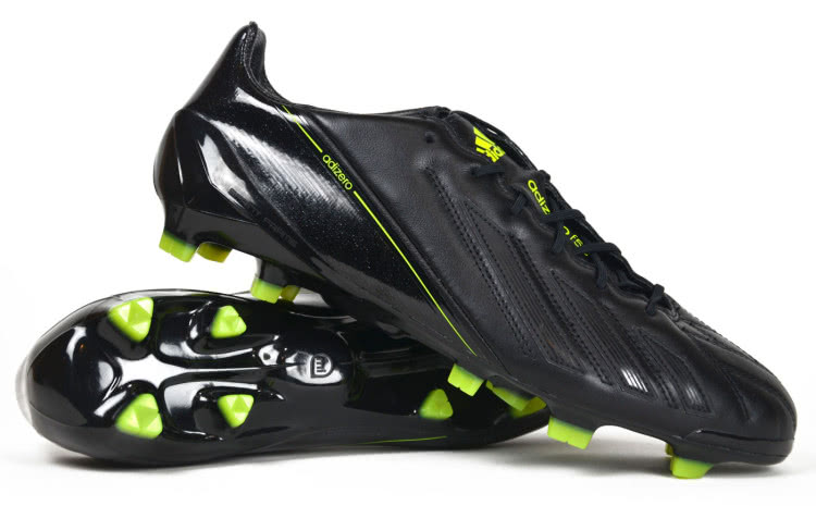 36c8f6230e7902 Adidas F50 adizero TRX FG Blackout aus Leder - Sportartikel und ...