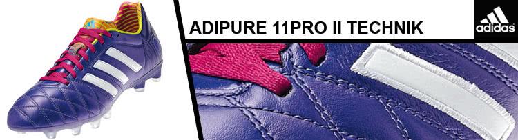 sale retailer 46f51 97361 Adidas adipure 11pro II die Leder Fußballschuhe ...