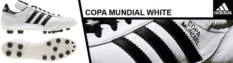 der weiße Adidas Copa Mundial
