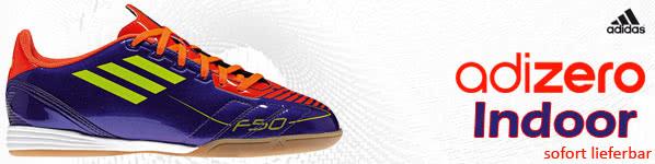 Adidas F10 adizero Hallenschuhe für Kinder Sportartikel