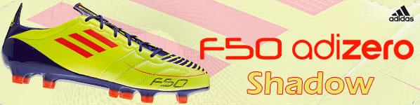 Die Messi Fußballschuhe Adidas F50 adizero Shadow vom Finale 2011