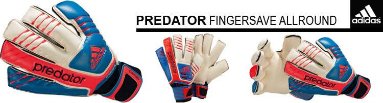 Adidas Predator Fingersave Allround Torwarthandschuhe für