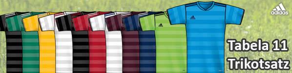 adidas tabela 11 trikotsatz design f r dein team sportartikel und fussballschuhe news. Black Bedroom Furniture Sets. Home Design Ideas