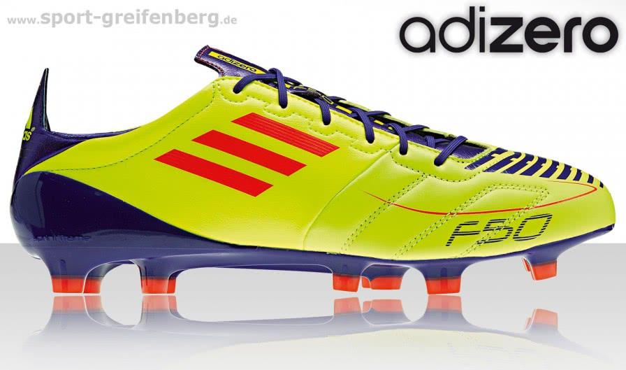 Die Adidas adizero F50 die Lionel Messi im Champions League Finale 2011 getragen hat