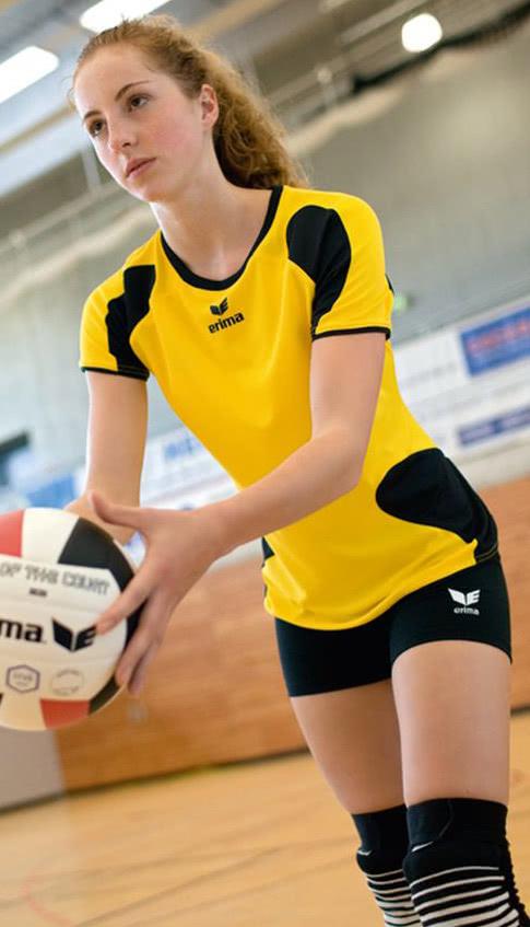 Erima Verona Tight die Damen Sportshort Sportartikel und