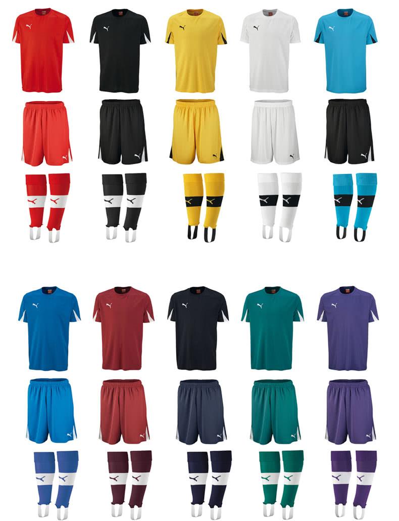 puma trikotsatz team der fu ball trikotsatz f r vereine sportartikel und fussballschuhe news. Black Bedroom Furniture Sets. Home Design Ideas