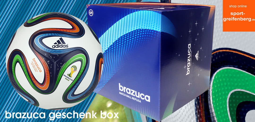 adidas brazuca ball in der geschenk box sportartikel und fussballschuhe news. Black Bedroom Furniture Sets. Home Design Ideas