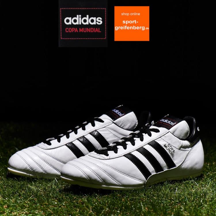 Adidas Copa Mundial Fußballschuhe jetzt auch in weiß