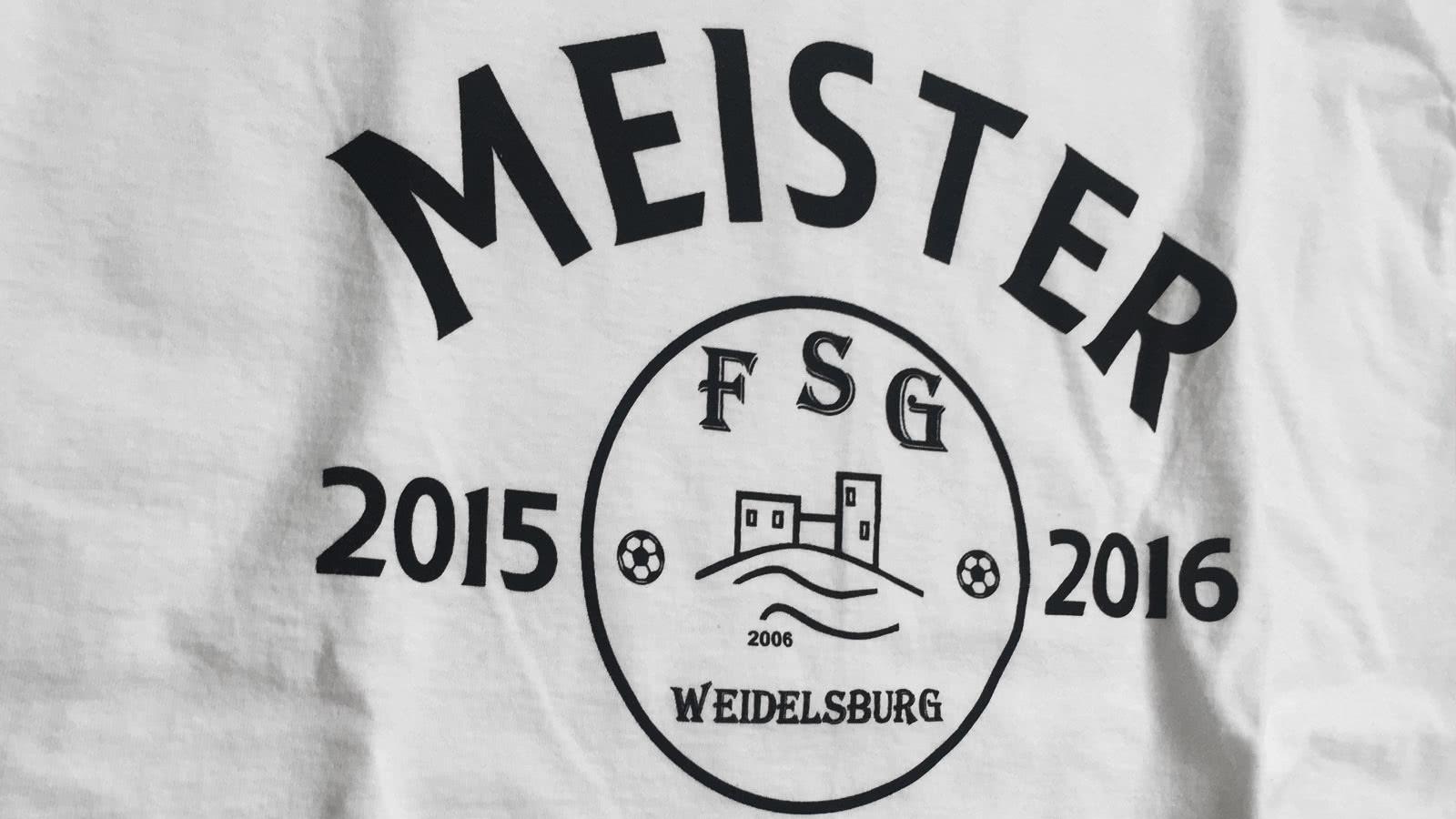 Die Meister T-Shirt und Aufsteiger T-Shirts