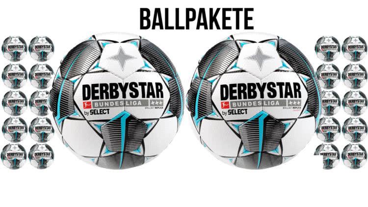 Die Derbystar Bundesliga Ballpakete für jedes Alter