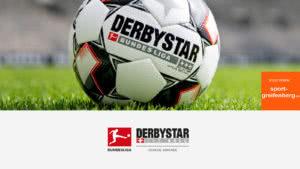 Der Derbystar Bundesliga Ball 2018-2019 Brillant APS Spielball
