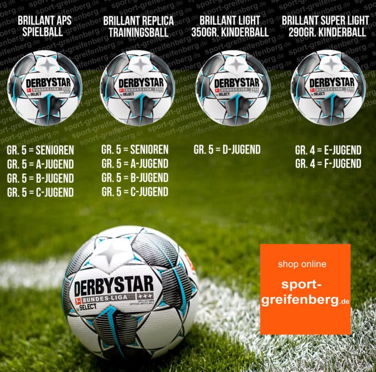 Derbystar Bundesliga Ball 2019/2020 Fußbälle im Vergleich