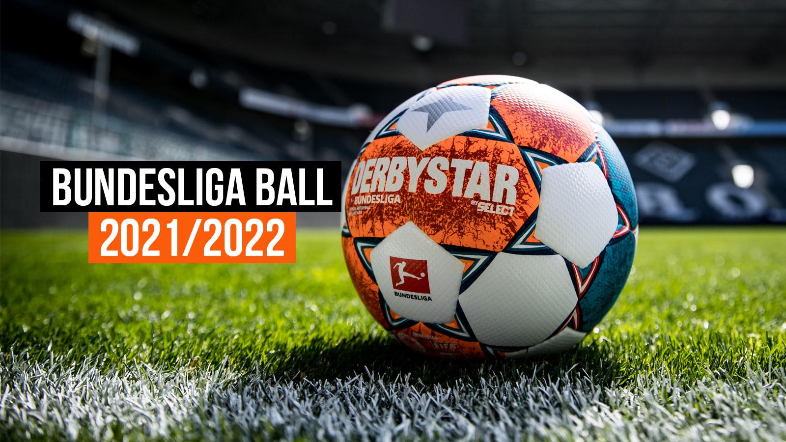 der Derbystar Bundesliga Ball 2021/2022 Brillant