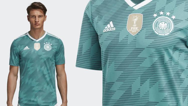 das adidas DFB Trikot Away 2018/2019 als Auswärts Trikot der Nationalmnanschaft