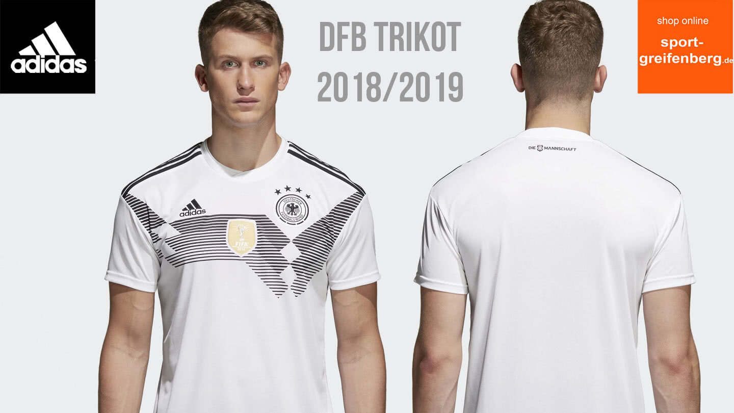 das ist das deutschland trikot f r die wm 2018 dfb trikot. Black Bedroom Furniture Sets. Home Design Ideas