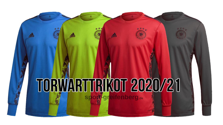 Die adidas dfb Torwart Trikots für 2020 und 2021 von Manuel Neuer, Marc Andre ter Stegen