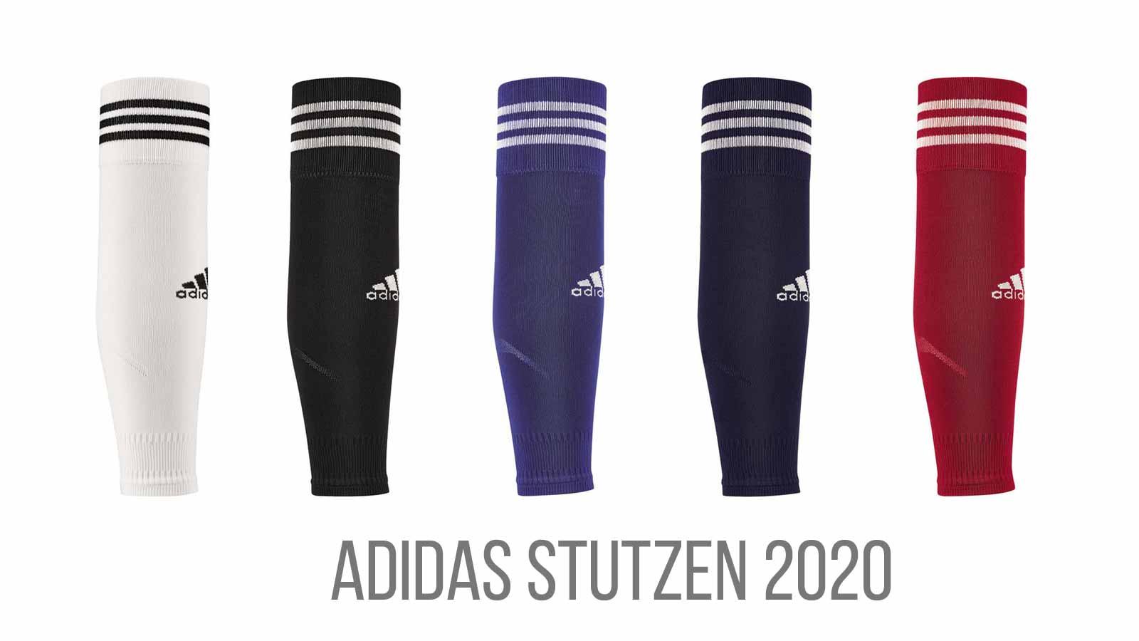 adidas team sleeve 18 stutzen schwarz-weiß