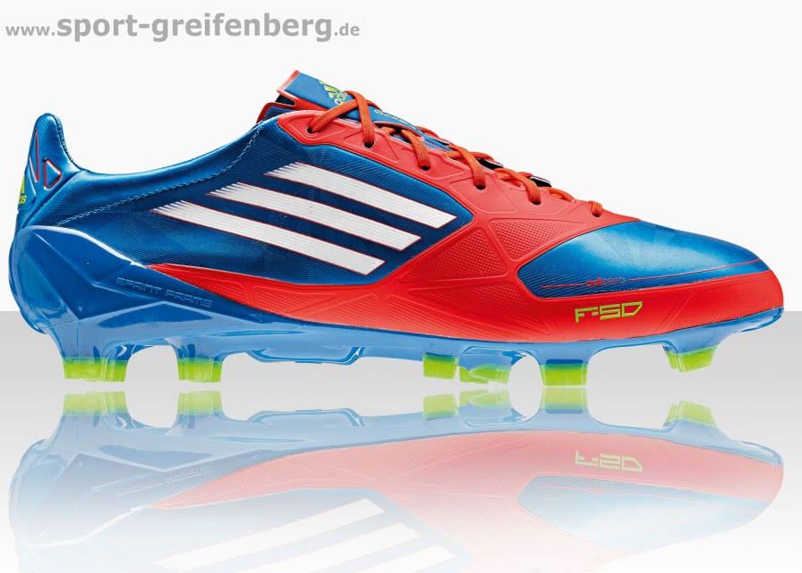 Adidas F50 adizero miCoach Fußballschuhe prime blue - Sportartikel ...