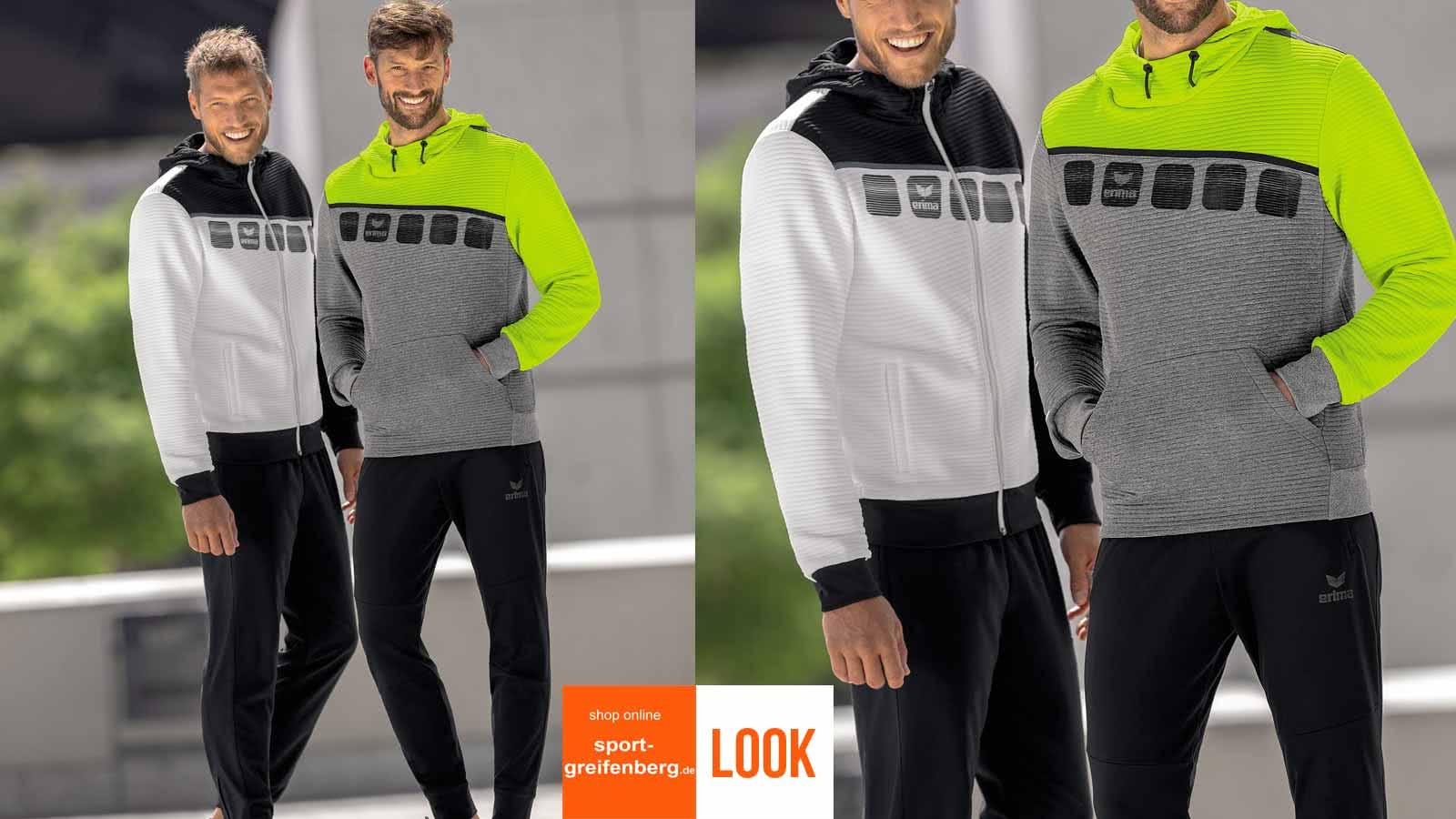das Erima Sport Outfit zum Sport oder die Freizeit