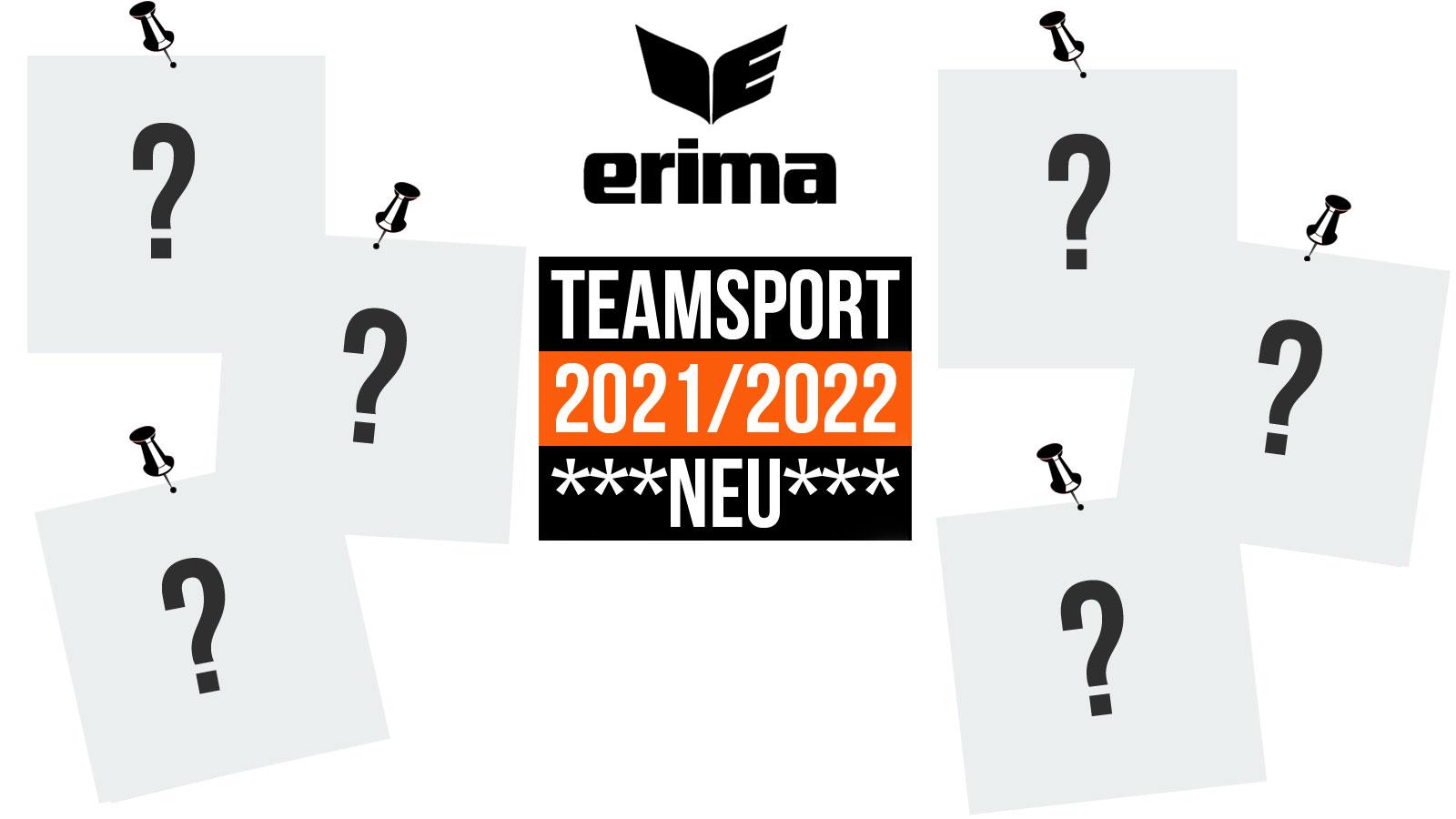 Die Erima Teamsport 2021/2022 Teamlines