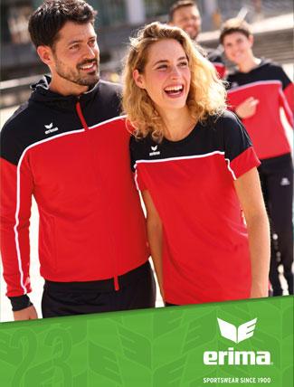 Erima Teamsport Katalog für Fußball, Handball und weitere Sportarten als download