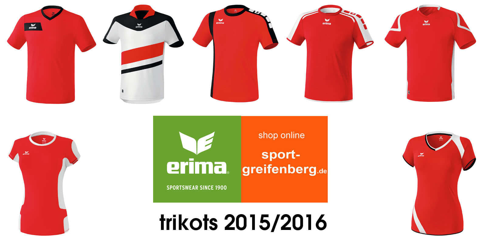 24003187b3e258 Neue Erima Trikots 2015 2016 im Teamsport Katalog - Sportartikel und ...