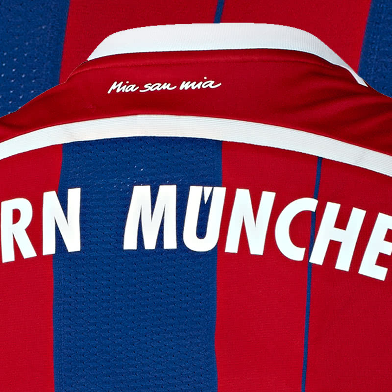 das fc bayern trikot 2014 2015 home sportartikel und fussballschuhe news. Black Bedroom Furniture Sets. Home Design Ideas