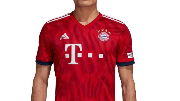 Das FC Bayern München Trikot 2018/2019 Home als Heim Trikot