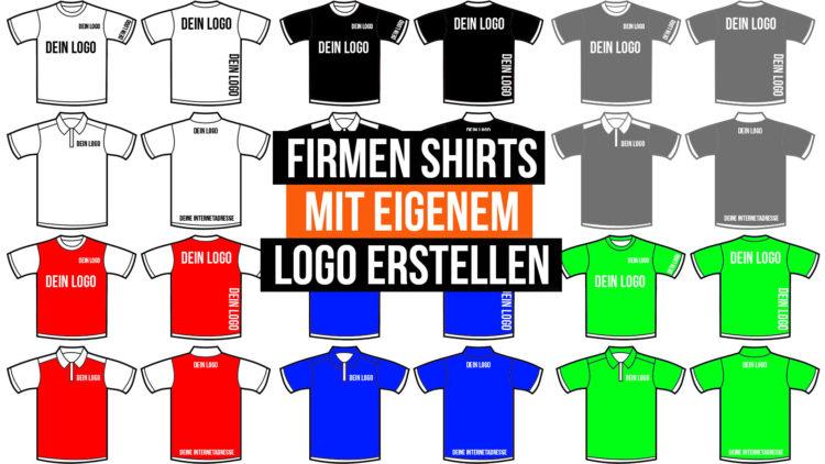so kannst du Firmenshirts mit deinem Logo erstellen