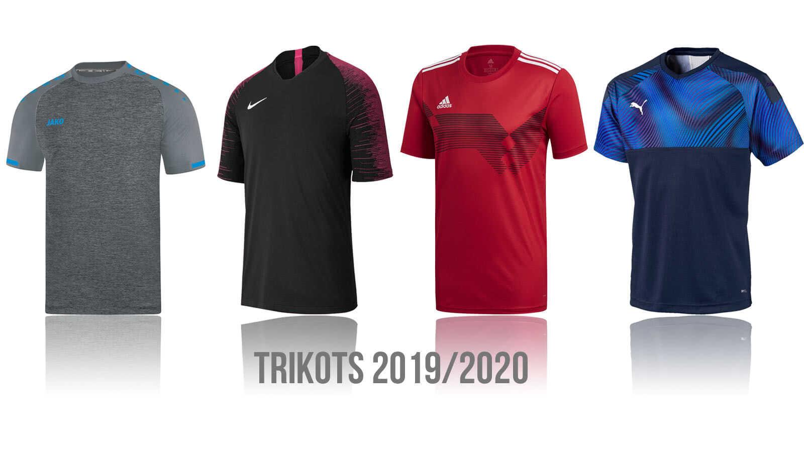 Das sind die Fußball Trikots 2019/2020 von adidas, nike, puma und jako