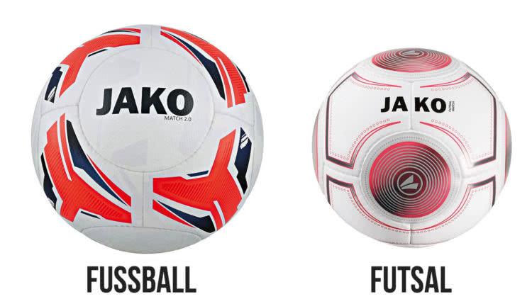 Die Unterschiede zwischen der Fußball und Futsal Ball Größe