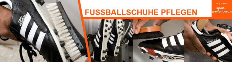 wasch und pflegehinweise f r fu ballschuhe sportartikel und fussballschuhe news. Black Bedroom Furniture Sets. Home Design Ideas