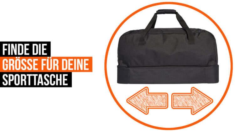 Die Richtige Größe für deine Sporttasche mit der Größentabelle