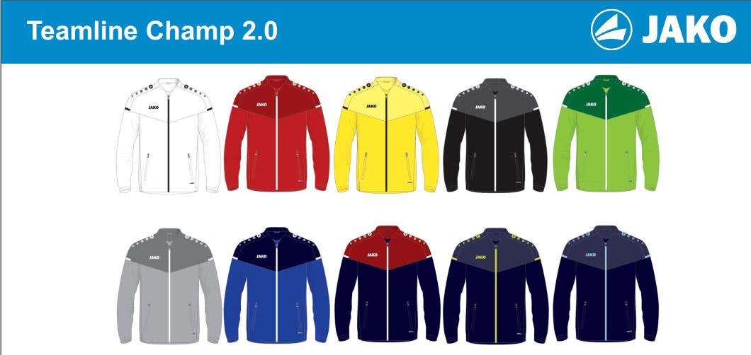 Die Jako Champ 2.0 Teamline im Fußball Katalog 2020/2021