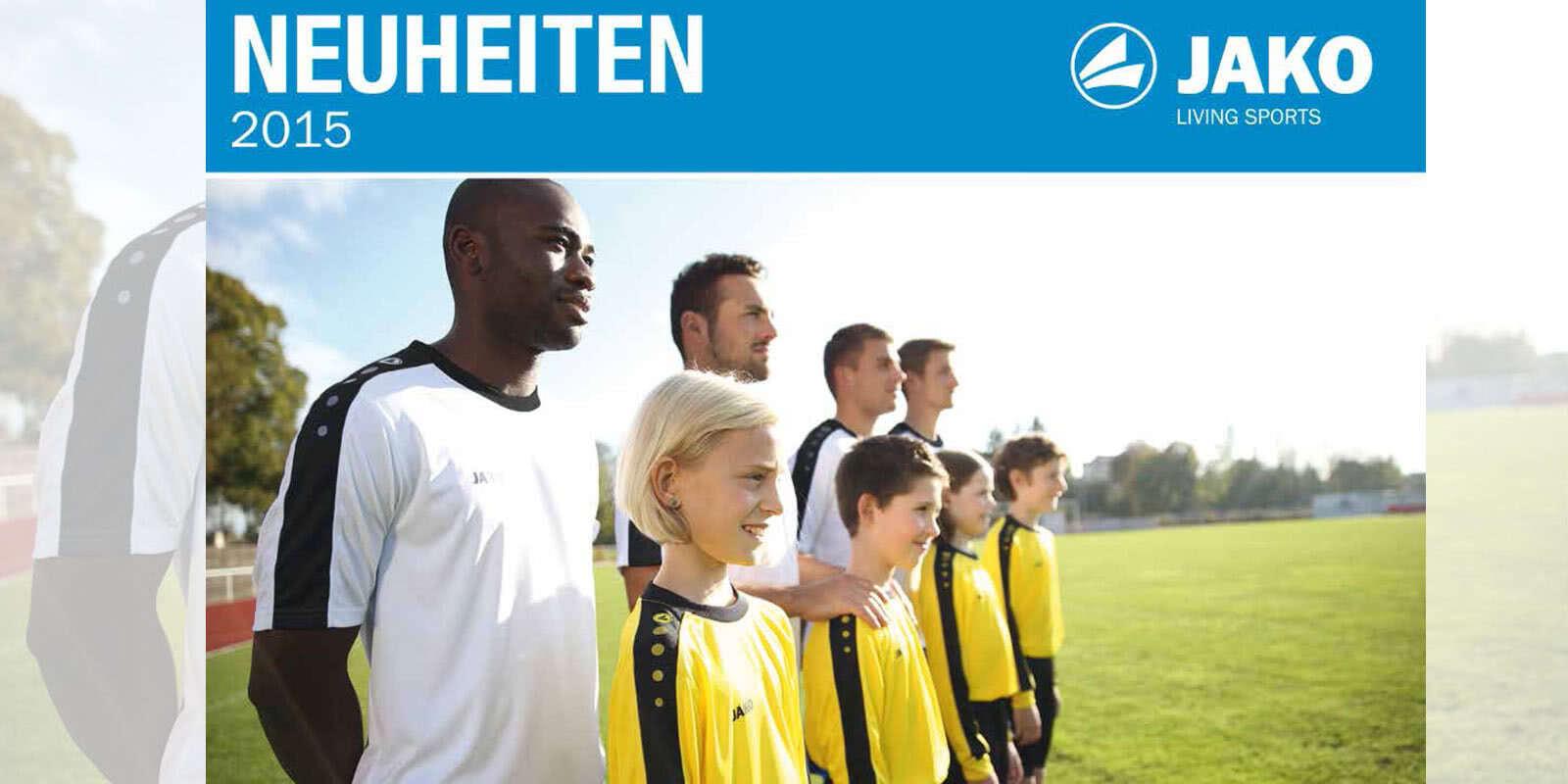 942a2e8708f346 Jako Neuheiten 2015 2016 - Teamline - Trikots - uvm - Sportartikel ...