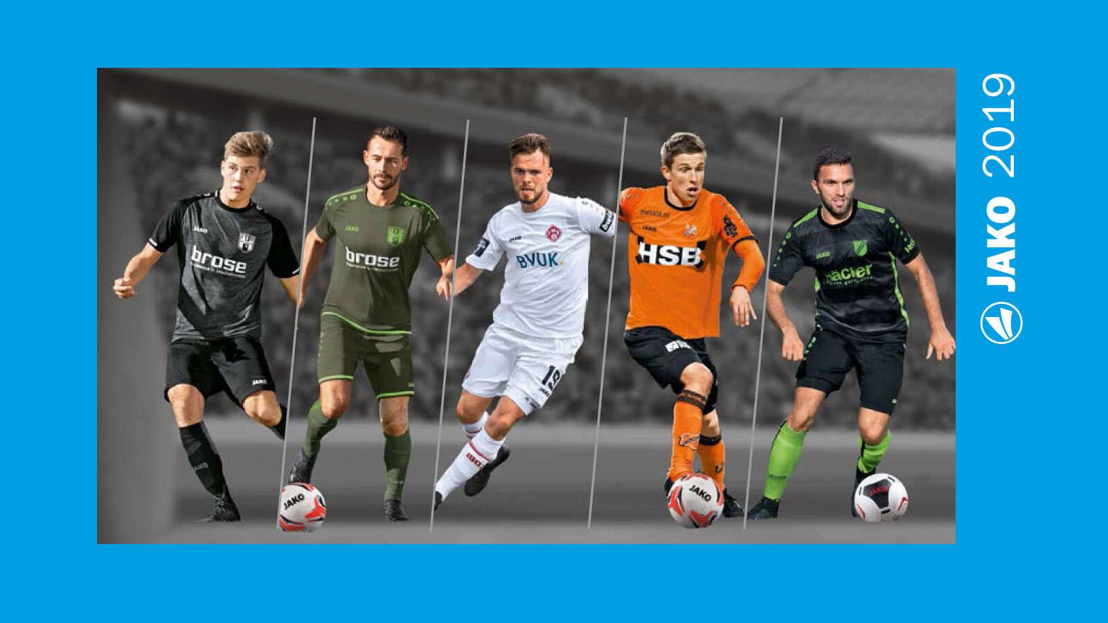 Die Jako Trikots 2019/2020 im Fußball Katalog