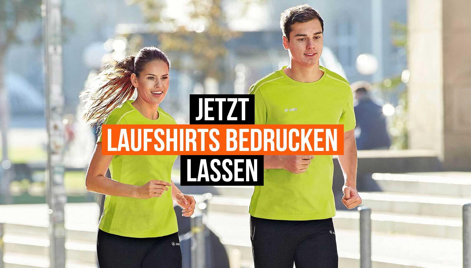 Sportschuhe groß auswahl Top Qualität Running/Lauf Shirts bedrucken oder beflocken