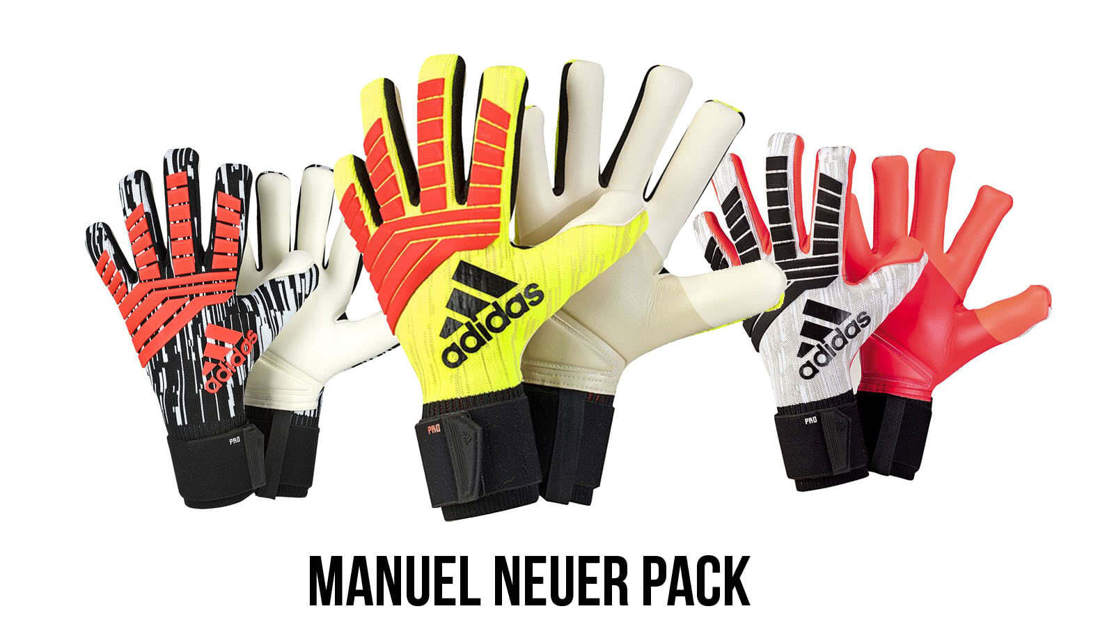 new product official store classic shoes adidas Manuel Neuer Torwarthandschuhe 2018/2019 (3x Handschuhe!