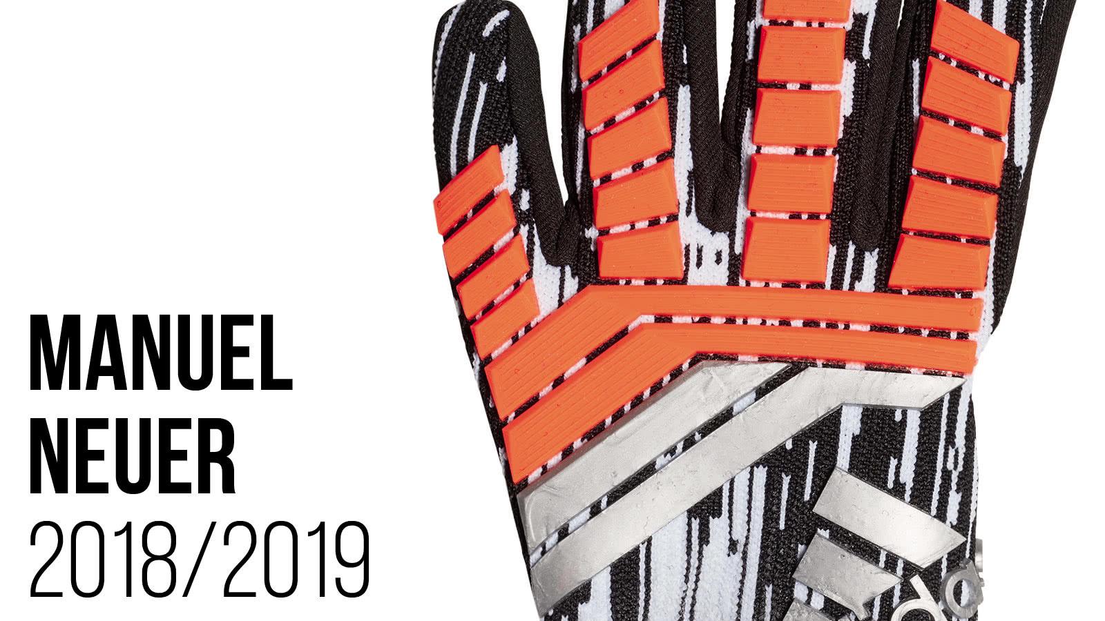 Die Manuel Neuer Torwarthandschuhe 2018/2019