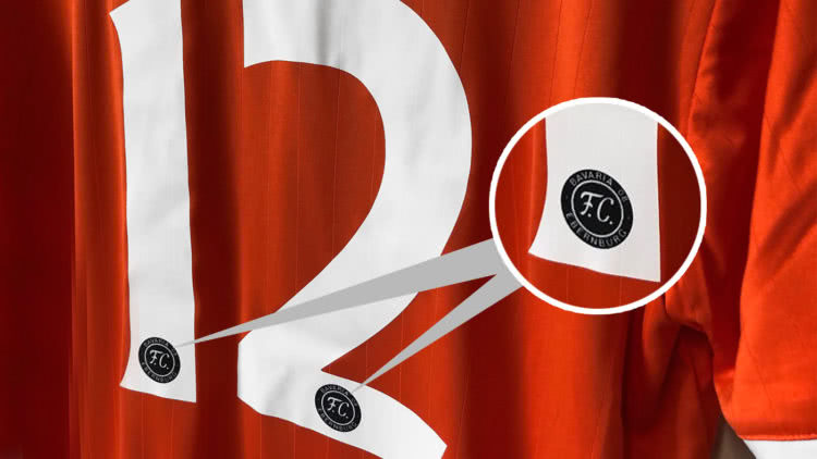 Neue Neue Trikot Nummern mit einem Logo