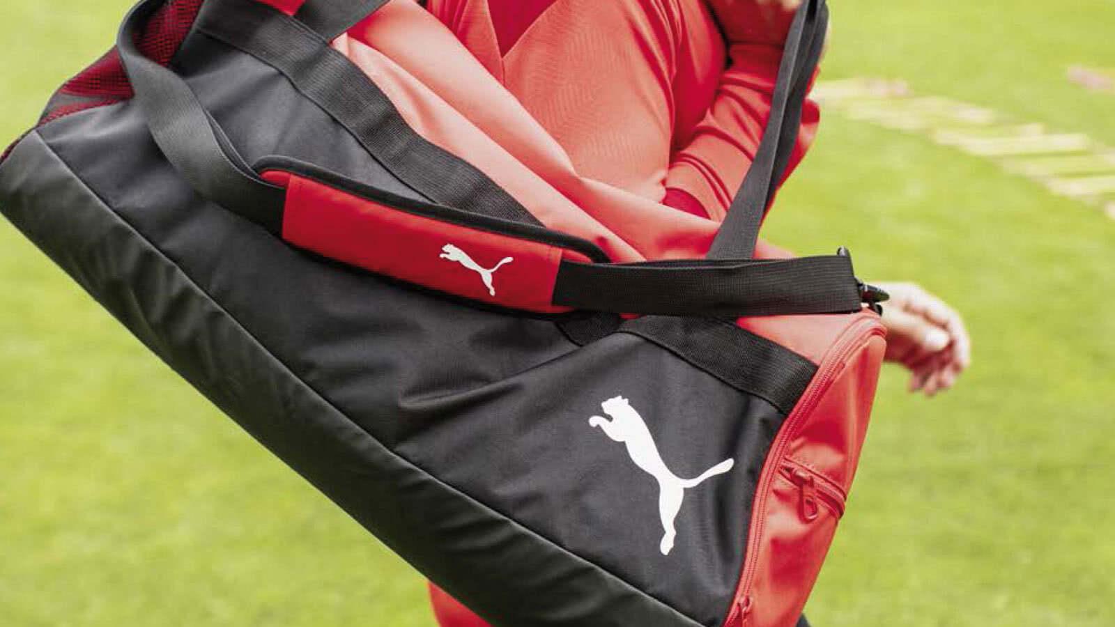 Puma Taschen für 2020/2021 für den Fußball und andere Sportarten